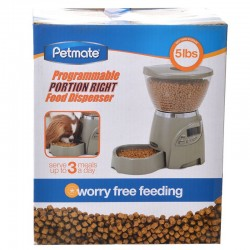 Petmate Programmable Portion Right Pet Feeder Image