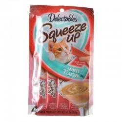 Hartz Delectables Squeeze Up Cat Treat - Tuna Image
