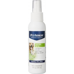 PetArmor Anti-Itch Spray for Dogs and Cats Soothes Dry Skin Image