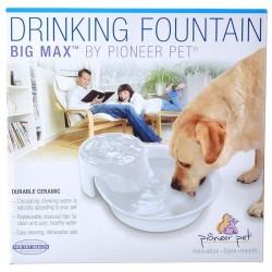 Pioneer Big Max Ceramic Drinking Fountain - White Image