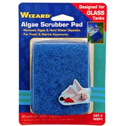Penn Plax Wizard Algae Scrubber Pad for Glass Aquariums Image