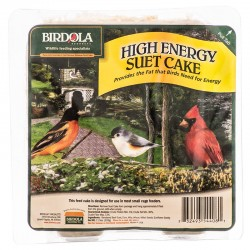 Birdola High Energy Suet Cake for Wild Birds Image