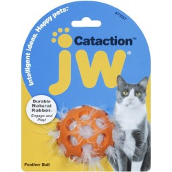JW Pet Cataction Feather Ball Interactive Cat Toy  Image