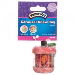 Kaytee Carousel Chew Toy - Apple Image