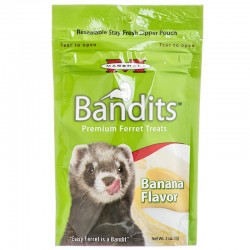 Marshall Bandits Premium Ferret Treats - Banana Flavor Image