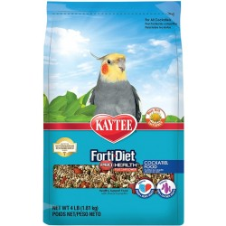 Kaytee Forti Diet Pro Health Safflower Healthy Diet - Cockatiel Image