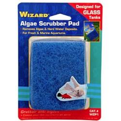 Penn Plax Wizard Algae Scrubber Pad for Glass Aquariums Image