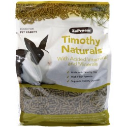 ZuPreem Nature's Promise Timothy Naturals Rabbit Food Image