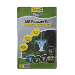 Tetra Pond LED Fountain Set with Remote Controlled Color-Changing LEDs Image