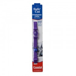 Coastal Pet Safe Cat Adjustable Nylon Breakaway Collar - Purple Image