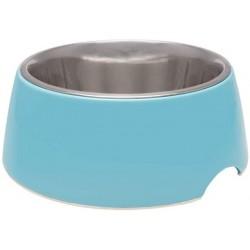 Loving Pets Electric Blue Retro Bowl Image