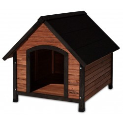 Precision Pet Extreme Outback Country Lodge Dog House - Medium Image