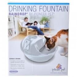 Pioneer Raindrop Ceramic Drinking Fountain White Image