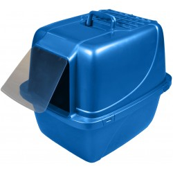 Van Ness Enclosed Cat Litter Pan with Zeolite Air Filter Image