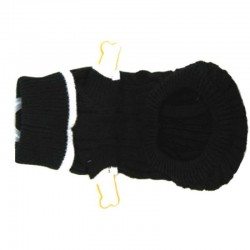 Fashion Pet Black Cable Knit Sweater Image
