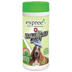 Espree Tea Tree & Aloe Wipes Image