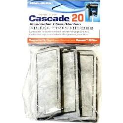Cascade 20 Power Filter Replacement Carbon Filter Cartridges Image