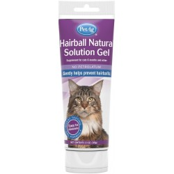 PetAg Hairball Natural Solution Gel for Cats Image