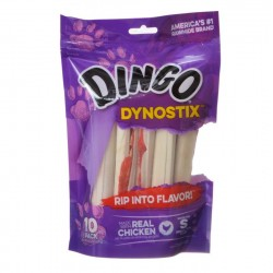 Dingo Dynostix Meat & Rawhide Chew Sticks for Dogs Image