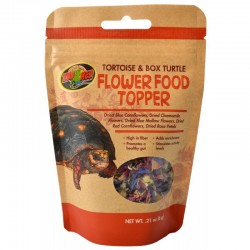 Zoo Med Tortoise & Box Turtle Flower Food Topper Image