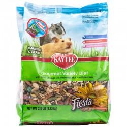 Kaytee Fiesta Hamster & Gerbil Gourmet Variety Diet Image