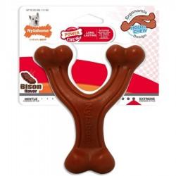 Nylabone Power Chew Wishbone Dog Chew Toy Bison Flavor Image