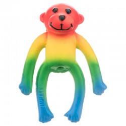 Lil Pals Latex Monkey Dog Toy - Assorted Colors Image