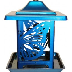 Homestead Monarch Seed Feeder Blue Image