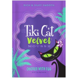 Tiki Cat Velvet Mousse Chicken With Egg Cat Food Image