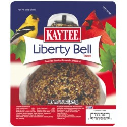Kaytee Liberty Bell Wild Bird Treat with Favorite Seeds Grown In America For Wild Birds  Image