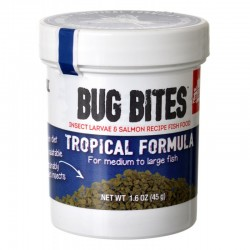 Fluval Bug Bites Tropical Formula Granules for Medium-Large Fish Image