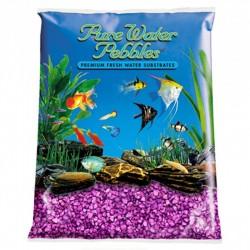 Pure Water Pebbles Aquarium Gravel - Purple Passion Image