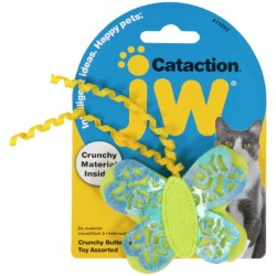 JW Pet Cataction Crunchy Butterfly Cat Toy  Image