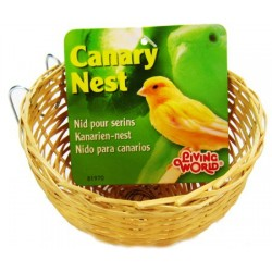 Living World Wicker Canary Nest Image