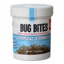 Fluval Bug Bites Tropical Formula Granules for Small Fish Image