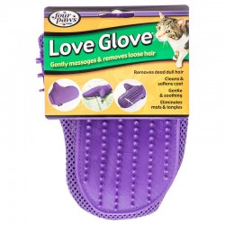 Four Paws Love Glove Grooming Mitt for Cats Image