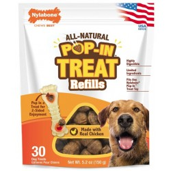 Nylabone Pop-In Treat Refills for Power Chew Treat Toy Combo Image