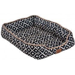 Precision Pet Ikat Snoozzy Drawer Pet Bed Navy  Image