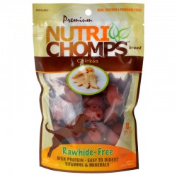 Premium Nutri Chomps Chicken Flavor Mini Knots Image