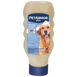 PetArmor Plus Oatmeal Shampoo for Dogs 7-Day Protection Image