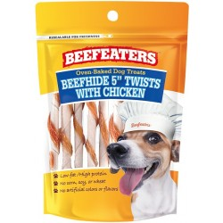 Beafeaters Oven Baked Beefhide & Chicken Twists Dog Treat Image