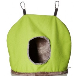 Prevue Fleece Bird Snuggle Sack Jumbo Bird Nest Image
