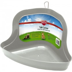 Kaytee Tall Corner Litter Pan with Quick Lock Image