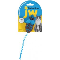 JW Pet Cataction Catnip Mouse Cat Toy With Rope Tail  Image