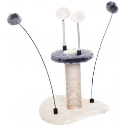 Pet Pals Zippy Cat Scratching Post with Toys Image