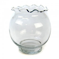 Fluted Ivy Fish Bowl Image