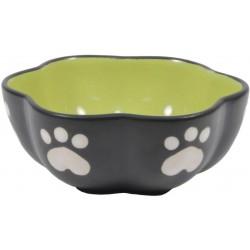 Spot Ceramic Vienna Dog Dish Green Image