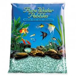 Pure Water Pebbles Aquarium Gravel - Turquoise Image