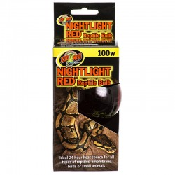 Zoo Med Nightlight Red Reptile Bulb Image