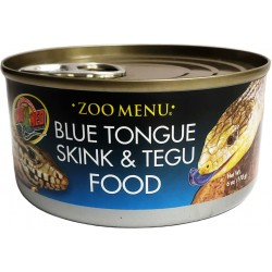 Zoo Med Zoo Menu Canned Blue Tongue Skink & Tegu Food Image